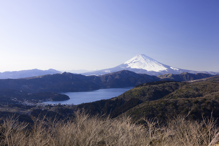 47135422 - fuji and hakone