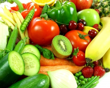 15990789 - variety of fresh fruit and vegetables
