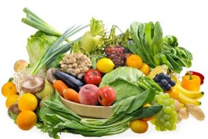 16185424 - assortment of the vegetables and fruits