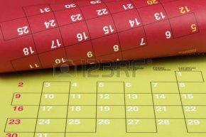 46289715-カラフルなカレンダー