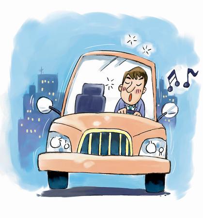 車の運転中の眠気を覚ますエクササイズ