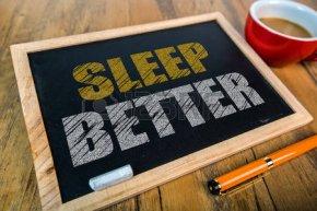 52337136-小さな黒板より良い睡眠します。