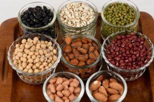 71035420-穀物、豆は健康な。