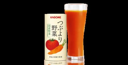 カゴメ野菜ジュース 「つぶより野菜」の評判がイイ!口コミ情報!