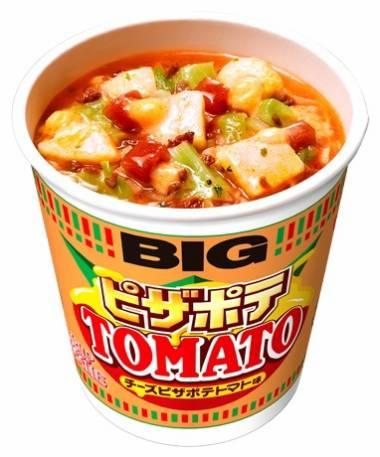 カップヌードル  日清 チーズピザポテトマト味 ビッグ新発売!