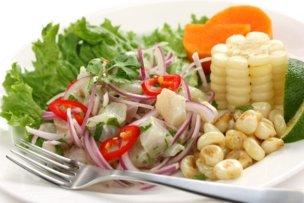12038130 - ceviche, seafood dish, peruvian cuisine