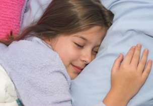 223910 - a pretty little girl, sound asleep in bed