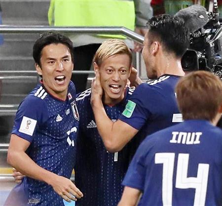 日本セネガル戦 乾・本田のゴールで2-2の引き分け。決勝トーナメンへは最終戦へ!