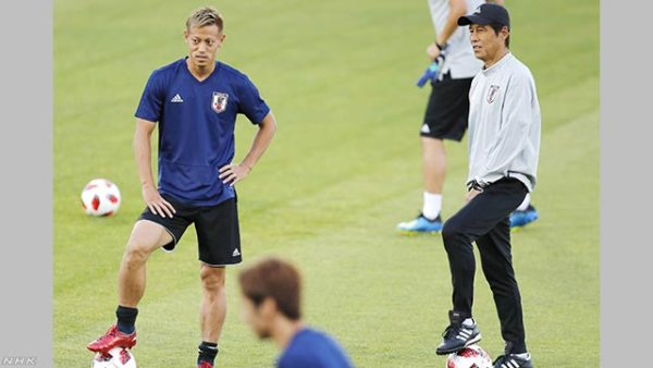 W杯日本代表 ベルギー戦へ最終調整!